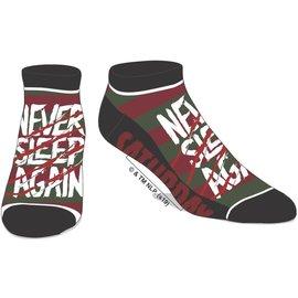 Bioworld Socks - A Nightmare on Elm Street - Never Sleep Again 1 Pair Ankle