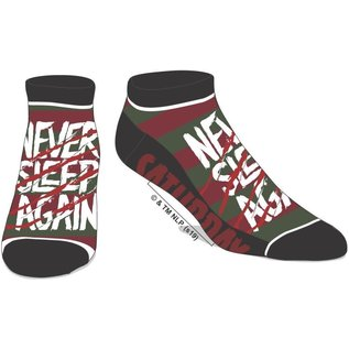Bioworld Chaussettes - A Nightmare on Elm Street - Never Sleep Again 1 Paire Courte Chevilles