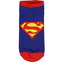 Bioworld Socks - DC Comics Superman - Blue with Logo 1 Pair Ankle