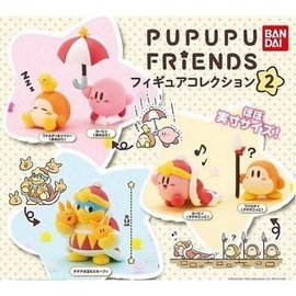 Bandai Gashapon - Nintendo Kirby - Mini Figurine Pupupu Friends Collection 2