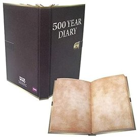 Wow! Stuff Carnet de Notes - Doctor Who - Mini 500 Year Diary à Pages Blanches Viellies avec Fermeture Élastique