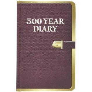 Wow! Stuff Carnet de Notes - Doctor Who - Mini 500 Year Diary à Pages Blanches Viellies avec Fermeture Élastique