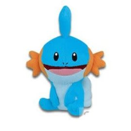 "Bandpresto Peluche - Pokémon - Mudkip Heureux Assis 6"""