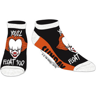 Bioworld Chaussettes - IT - Pennywise You'll Float Too 1 Paire Courte Chevilles