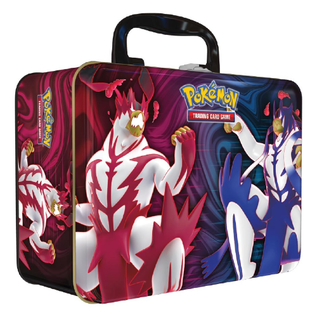 The Pokémon Company International Cartes à Collectionner - Pokémon Sword and Shield Battle Styles - Boîte à Lunch en Métal avec Cartes et Jeton Printemps 2021