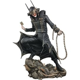Diamond Toys Figurine - DC Comics Batman - The Batman Who Laughs Diorama Gallery PVC 9""
