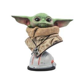 Diamond Toys Collectionnable - Star Wars The Mandalorian - Legends in 3-Dimension The Child Échelle de 1/2 Mini-Buste en Résine