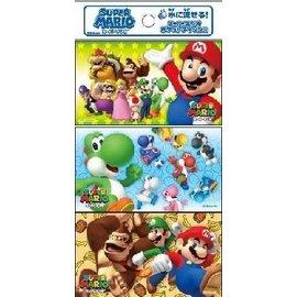 Takara Tomy Mouchoirs en Papier - Nintendo Super Mario Bros. - Personnages Variés 6 Paquets de 16