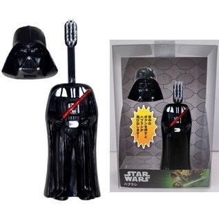 ShoPro Brosse à dents - Star Wars - Darth Vader avec Tête Capuchon
