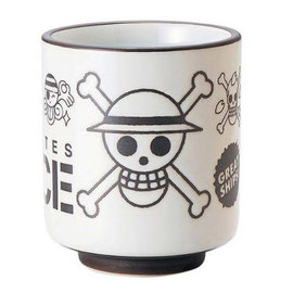 Toei Tasse - One Piece - Mugiwara Pirates Blanche et Brune pour le Thé 10oz