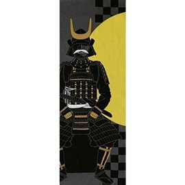 Maede Co. Hand Towel - Tenugui - Yamato-e Moonlight Samourai Armor