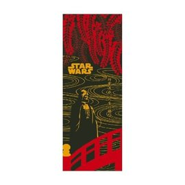 Maede Co. Essuie-mains - Tenugui Star Wars - Darth Vader sur un Pont Rouge