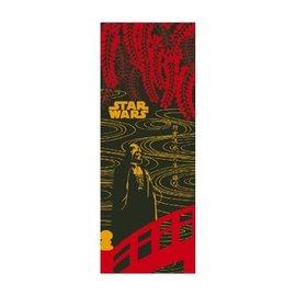 Maede Co. Hand Towel - Tenugui Star Wars - Darth Vader on a Red Bridge