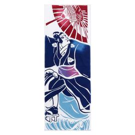 Kaya Essuie-mains - Tenugui - Acteur Kabuki de la Période Edo