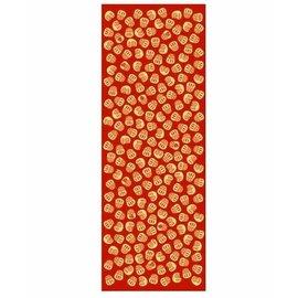 Kaya Hand Towel - Tenugui - Daruma Chirashi