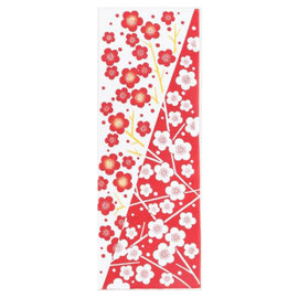 Kaya Hand Towel - Tenugui - Kaiun Ume Plum Blossoms