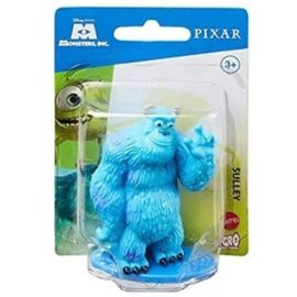 Mattel Figurine - Disney Pixar Monsters Inc. - Sulley Micro Collection 3""