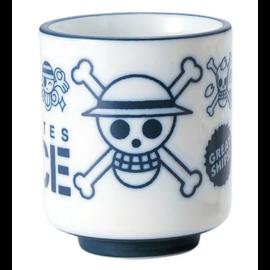 Toei Tasse - One Piece - Mugiwara Pirates Blanche et Bleue pour le Thé 10oz