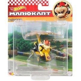 Mattel Toy - Hot Wheels Nintendo Mario Kart - Bowser Standard Kart and Bowser Kite