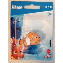 "Mattel Figurine - Disney Pixar Finding Nemo - Nemo Micro Collection 2"""