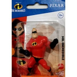 Mattel Figurine - Disney Pixar The Incredibles - Mr. Incredible Micro Collection 3""