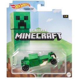 Mattel Jouet - Hot Wheels Minecraft - Character Cars Creeper