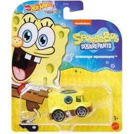 Mattel Jouet - Hot Wheels  SpongeBob SquarePants - Character Cars SpongeBob