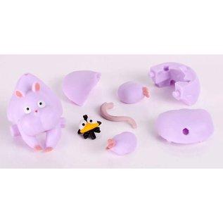 Eco Casse-tête - Studio Ghibli Le Voyage de Chihiro - Bô en Rat et Yu-Baado en Mouche Kumu Kumu Series 3D 11 pièces
