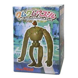 Ensky Studio Casse-tête - Studio Ghibli Le Château dans le Ciel - Robot Kumu Kumu Series 3D 23 pièces