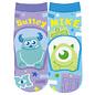 Js Planning Chaussettes - Disney Pixar Monstres Inc - Sulley et Mike Pattes en Relief 1 Paire Chevilles Courtes
