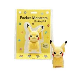 """Sekiguchi Figurine - Pokémon Pocket Monsters - Pikachu en Velours Floqué 5"""""""