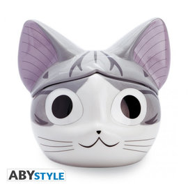 AbysSTyle Tasse - Chi's Sweet Home - Chi 3D avec Couvercle 13oz