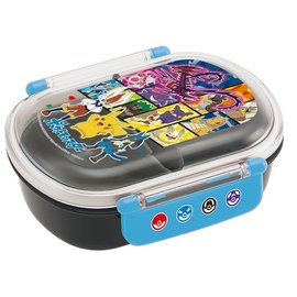 Skater Bento Box - Pokémon Sword and Shield - Multiple Characters with Divider 360ml