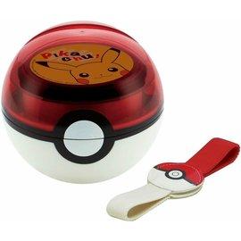 Skater Bento Box - Pokémon - Poké Ball 3D of 2 Compartments with Elastic Band 310ml