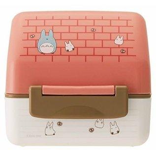 Skater Boîte Bento - Studio Ghibli Mon Voisin Totoro - Petite Maison avec Moule pour Onigiri de 2 Compartiments 240ml