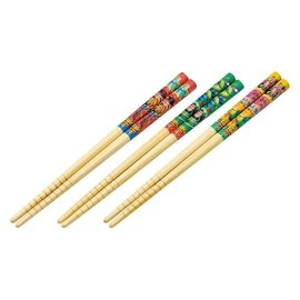 T's Factory Chopsticks - Disney Pixar Toy Story 4 - Various Characters Set of 3 Pairs 16.5cm