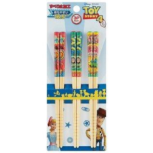 T's Factory Baguettes - Disney Pixar Histoire de Jouets 4 - Personnages Variés Ensemble de 3 Paires 16.5cm