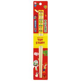 Nibariki Chopsticks - Disney Pixar Toy Story - Various Characters 1 Pair 21cm