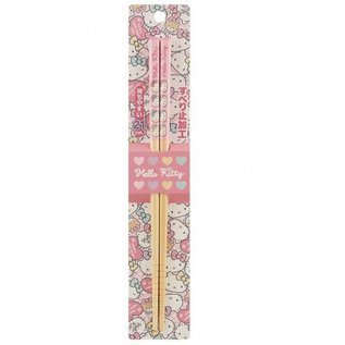 Nibariki Baguettes - Sanrio Hello Kitty - Boucles Multicolores 1 Paire 21cm