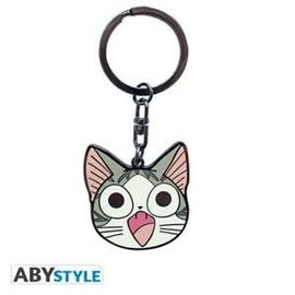 AbysSTyle Keychain - Chi's Sweet Home - Chi's Face Metal with Enamel