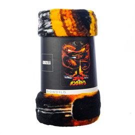 Bioworld Blanket - Godzilla - Godzilla VS King Ghidorah Fleece Throw