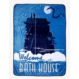 Her Universe Blanket - Studio Ghibli Spirited Away - Ryokan Welcome to the Bath House Fleece Throw