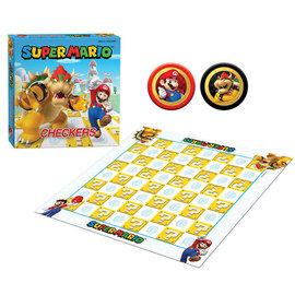 The OP Games Jeu de société - Nintendo Super Mario - Dames *Version Anglaise*