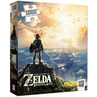 Usaopoly Casse-tête - The Legend of Zelda Breath of the Wild - Couverture du Jeu 1000 pièces