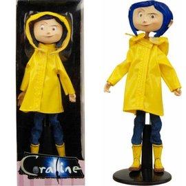 "NECA Figurine - Coraline - Coraline with Yellow Raincoat 7"""