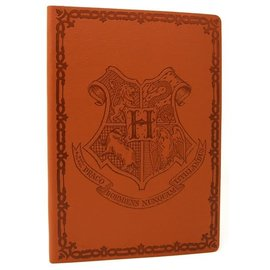 Pyramid America Notebook - Harry Potter - Hogwarts Crest Faux Leather
