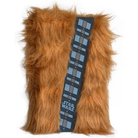 Pyramid America Notebook - Star Wars - Chewbacca Faux Fur Deluxe
