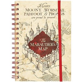Pyramid America Carnet de Notes - Harry Potter - Carte du Marauder Cahier à Anneaux