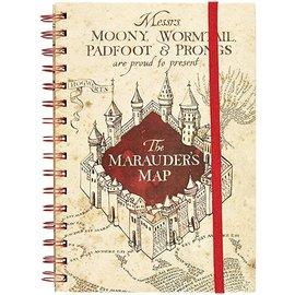 Pyramid America Notebook - Harry Potter - Marauder's Map Ring Book