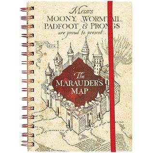 Pyramid America Carnet de Notes - Harry Potter - Carte du Marauder Cahier à Anneaux